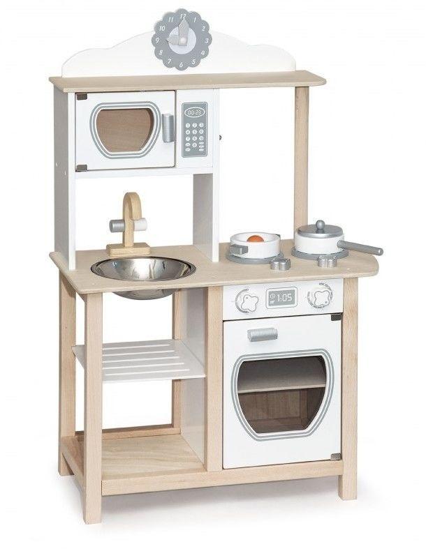 Drewniana Kuchnia dla dzieci Kuchenka z akcesoriami Viga Toys