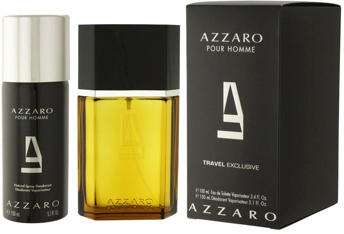 Azzaro pour Homme - męska EDT 100 ml + dezodorant 150 ml