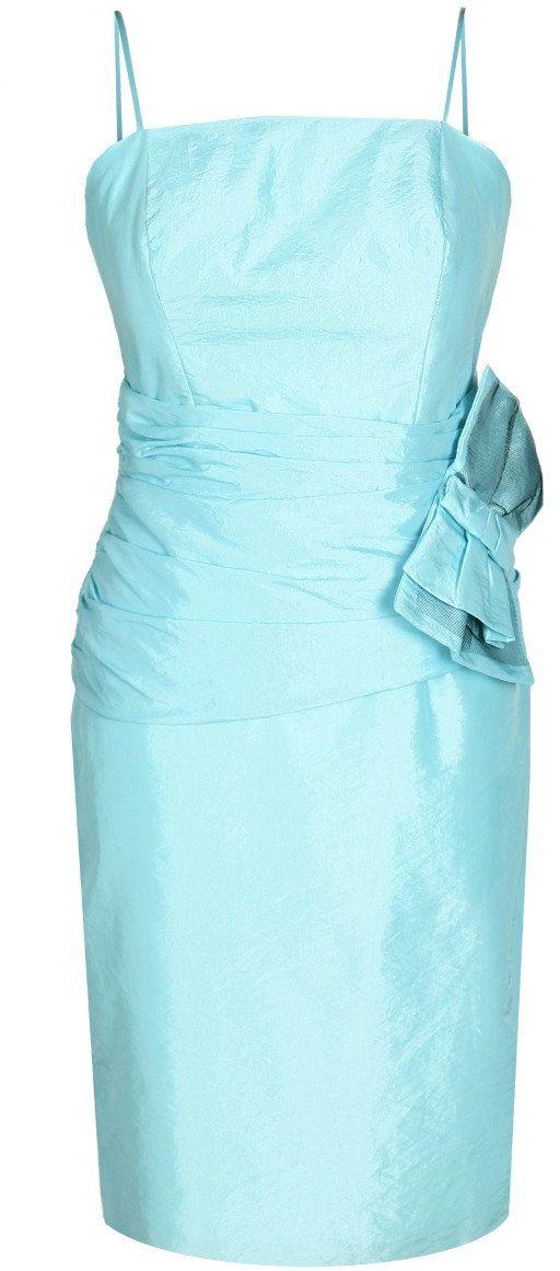 Sukienka FSU202 BŁEKITNY