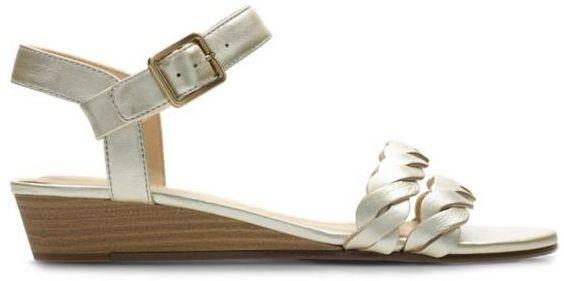Sandały damskie Clarks Mena Blossom białe261392534