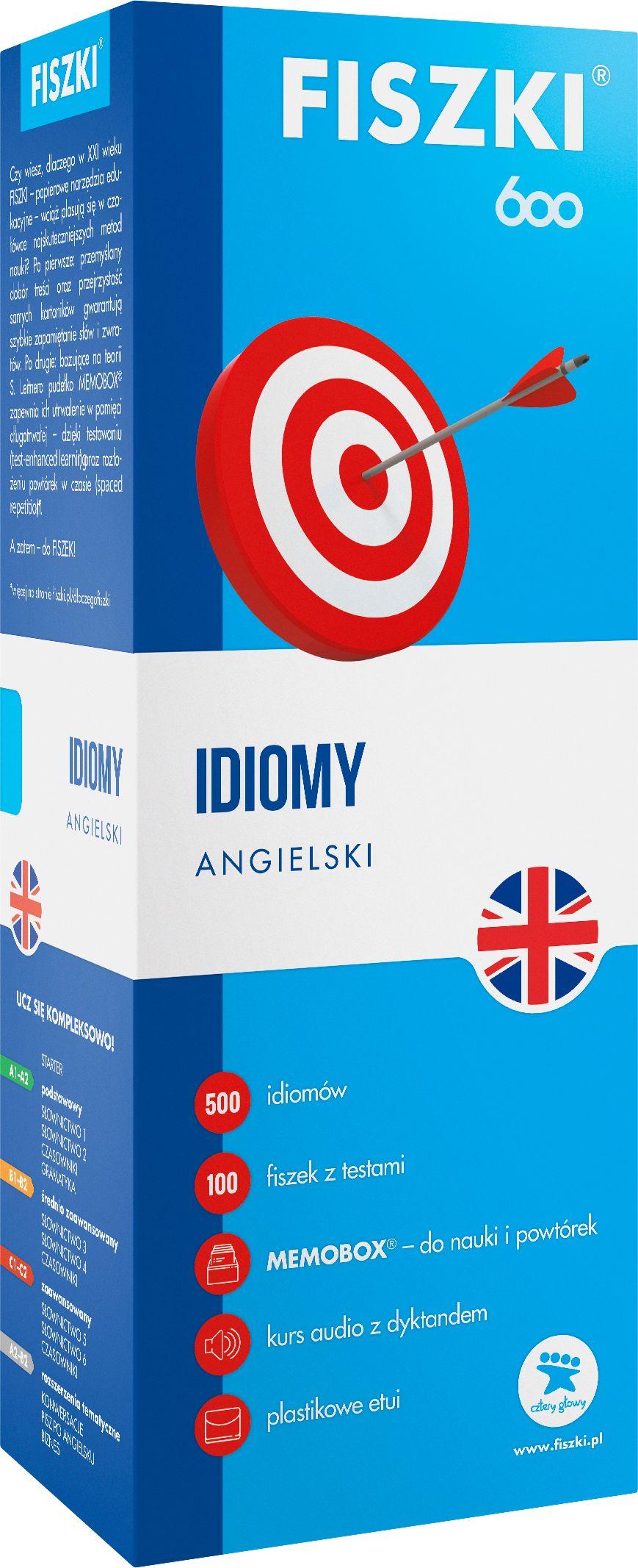 FISZKI - angielski - Idiomy
