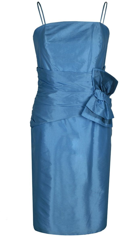 Sukienki Sukienka Suknie FSU202 NIEBIESKI
