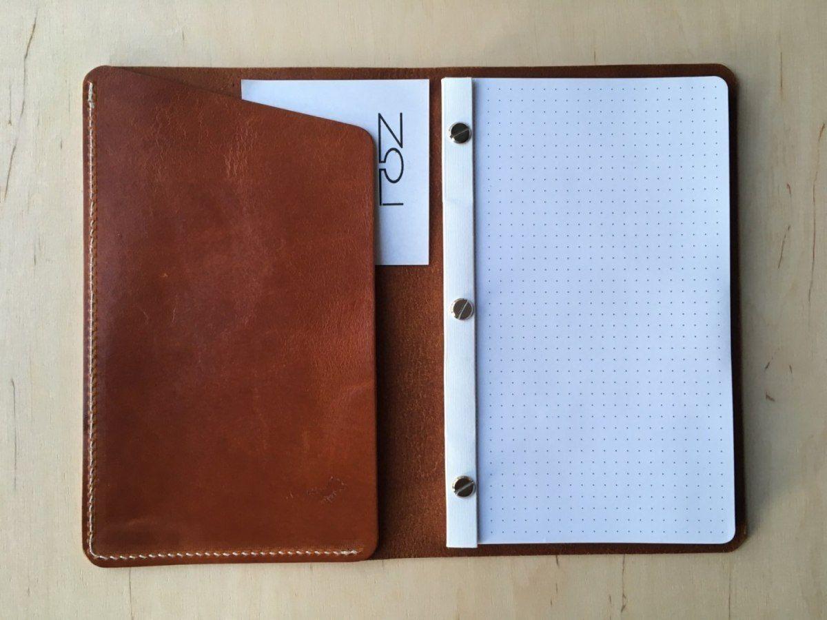 Notatnik W Skórzanej Oprawie Whiskey Z Kieszonką + Pudełko Drewniane Wymienne Wkłady Skóra Licowa Vintage Solidny Notes