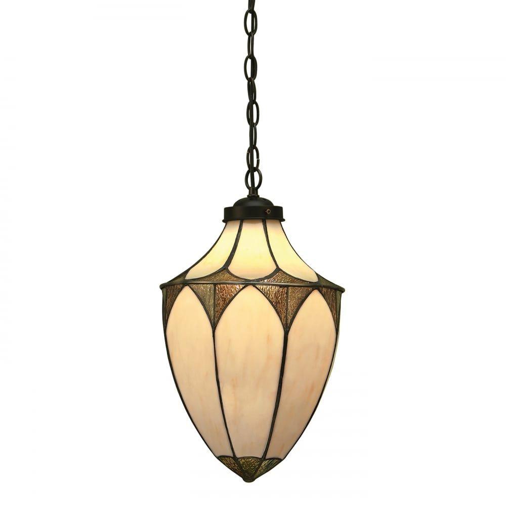 Lampa wisząca TIFFANY BROOKLYN - 63974 - INTERIORS 1900  Skorzystaj z kuponu -10% -KOD: OKAZJA