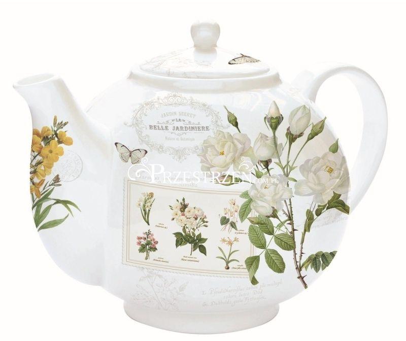 IMBRYK Z ZAPARZACZEM DO HERBATY - Natural - Kwiaty (321 NATU)
