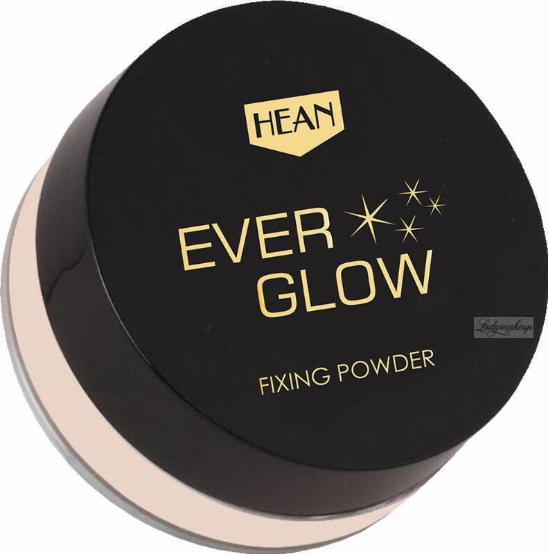 HEAN - EVER GLOW FIXING POWDER - Rozświetlający puder do twarzy - 7 g
