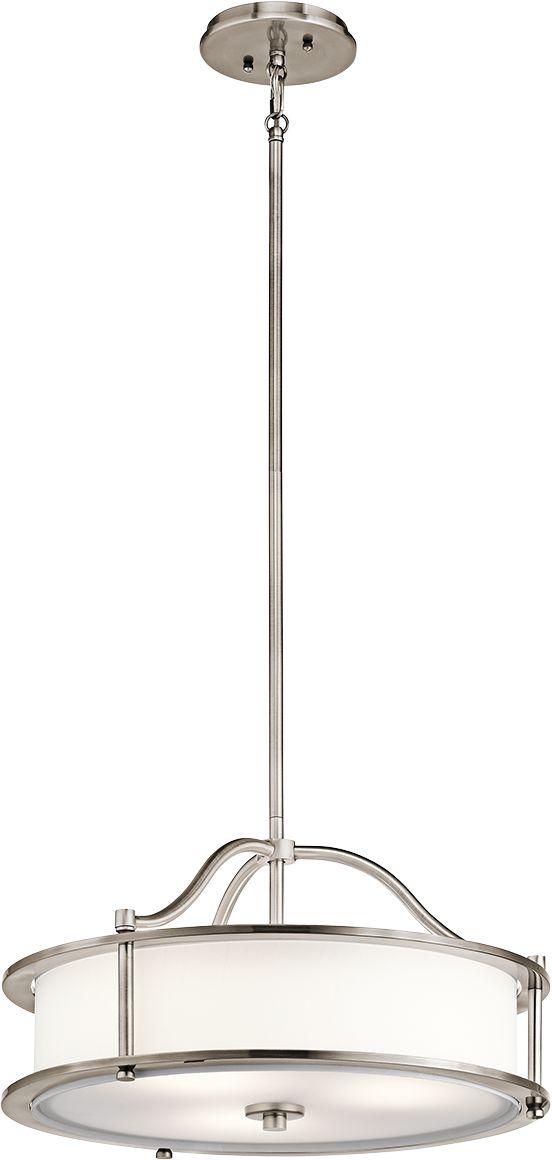 Lampa wisząca Emory KL/EMORY/P/S CLP Kichler klasyczna oprawa w minimalistycznym stylu