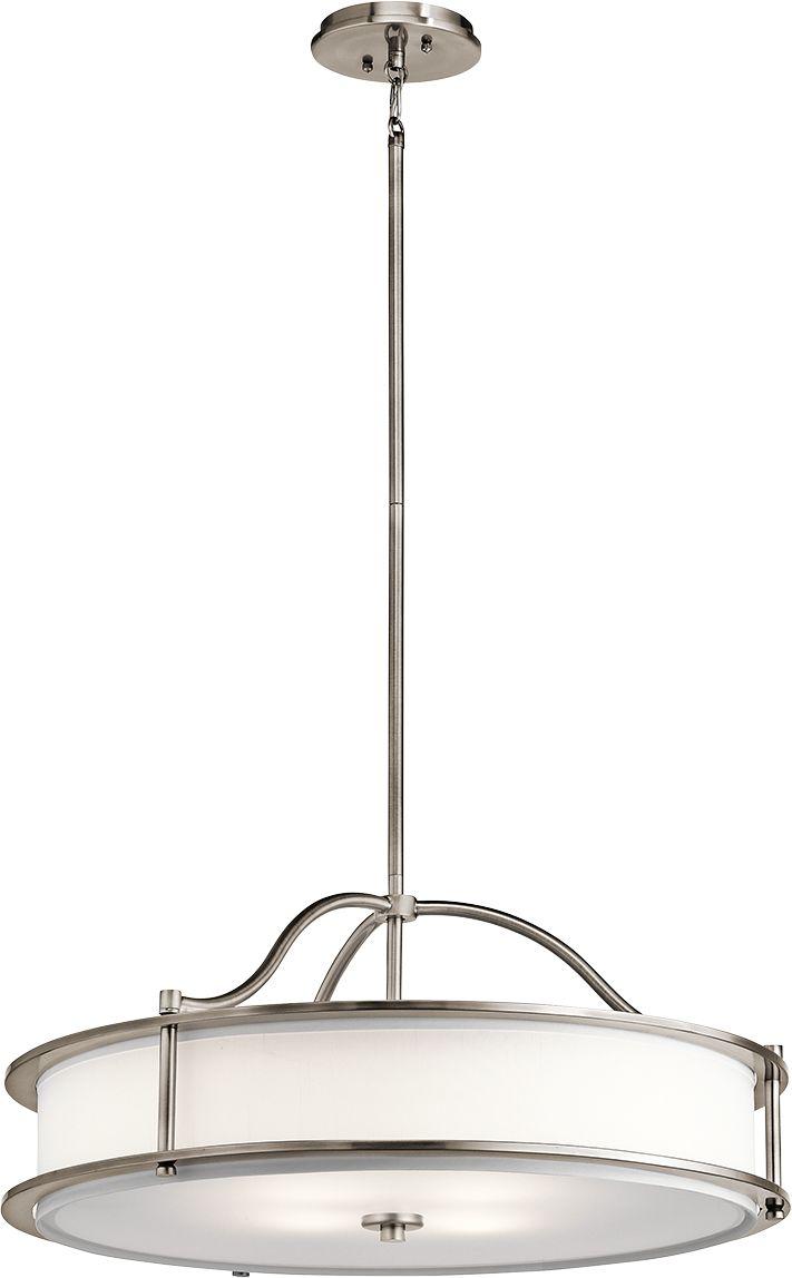 Lampa wisząca Emory KL/EMORY/P/M CLP Kichler minimalistyczna oprawa w klasycznym stylu