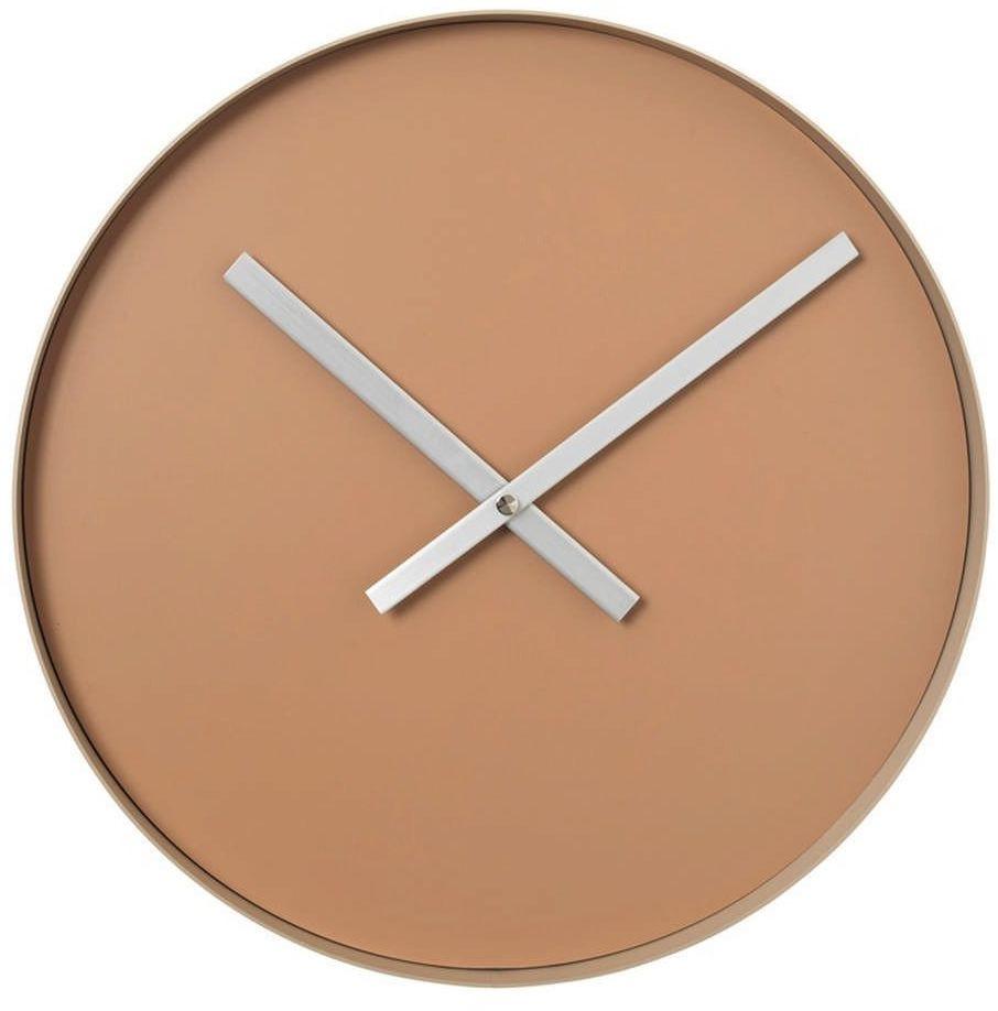 Blomus - rim - zegar ścienny fi, 40,50 cm, beżowy - beżowy
