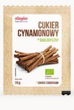 Cukier cynamonowy BIO 20g Amylon