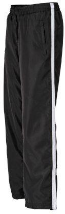 James & Nicholson Damskie spodnie sportowe Laufhosen damskie spodnie ciążowe Biały (czarny/biały) S