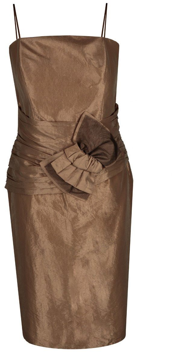 Sukienki Sukienka Suknie FSU202 CAPPUCINO