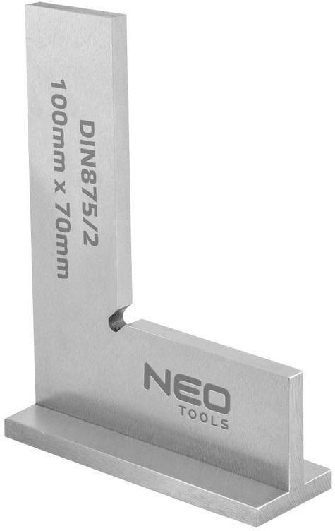 Kątownik z podstawą DIN875/2 100x70mm 72-031