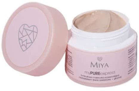 MIYA Cosmetics myPUREexpress 5-minutowa maseczka oczyszczająca 50g