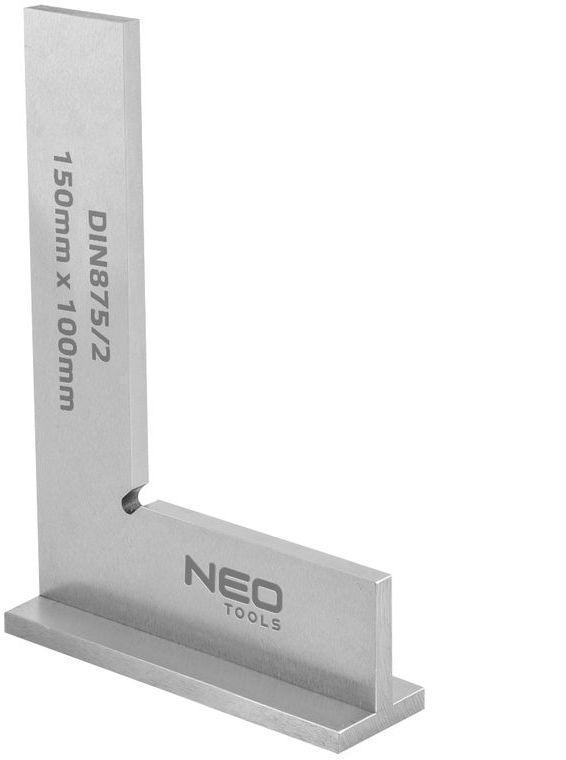 Kątownik z podstawą DIN875/2 150x100mm 72-032