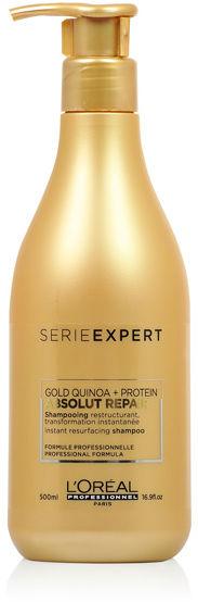 Loreal Absolut Repair Gold Szampon regenerujący włosy 500 ml