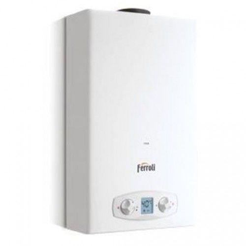 Gazowy podgrzewacz wody ZEFIRO ECO GZ50 7,1-18,9 kW LCD