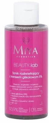 MIYA Cosmetics BEAUTY.lab Tonik rozświetlający z kwasem glikolowym 5% 150ml