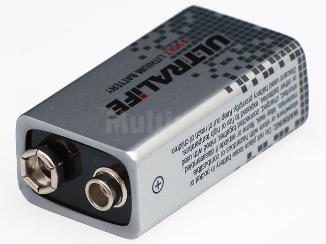 Bateria litowa 9V/1200mAh o bardzo długiej żywotności