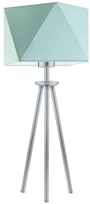 Lampka nocna trójnóg na srebrnym stelażu - EX928-Soveti - 18 kolorów