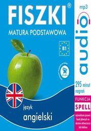 FISZKI audio j. angielski Matura podstawowa - Audiobook.