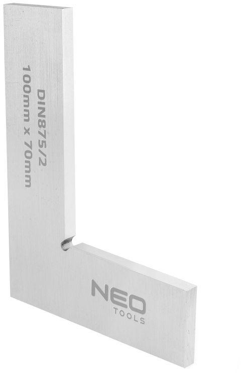 Kątownik płaski DIN875/2 100x70mm 72-021