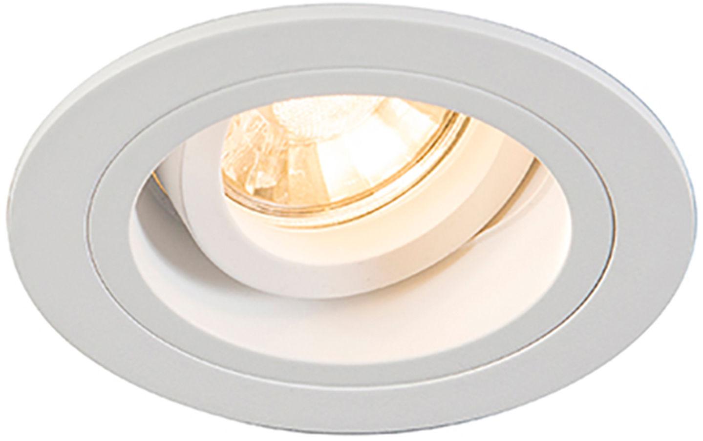Zuma Line 92699 CHUCK DL ROUND oprawa oświetleniowa wpuszczana podtynkowa biała GU10 9,2cm