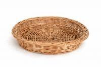 Okrągły Koszyk Wiklinowy Ø 38 cm