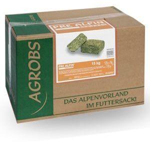 PreAlpin Compact siano i zioła w kostkach 15kg - St. Hippolyt