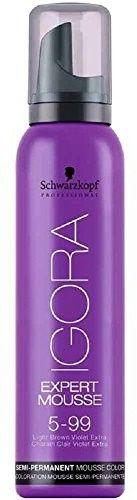 Schwarzkopf Professional IGORA Expert Mousse pianka koloryzująca do włosów odcień 5-99 100 ml