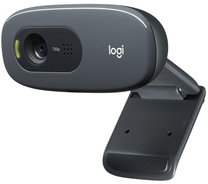 Logitech C270 HD-Webcam, 720p, 30 fps, 3MP, FoV 60 , stały Fokus