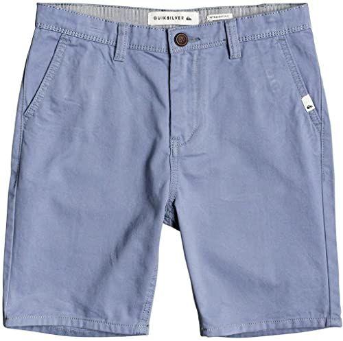 Quiksilver Szorty chłopięce Walk Everyday - szorty chinosy dla chłopców 8-16 niebieski niebieski 24