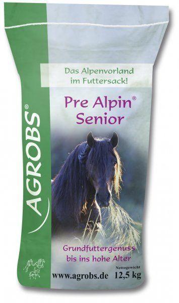 PreAlpin Senior niemelasowana sieczka dla koni starszych 12,5kg - St. Hippolyt