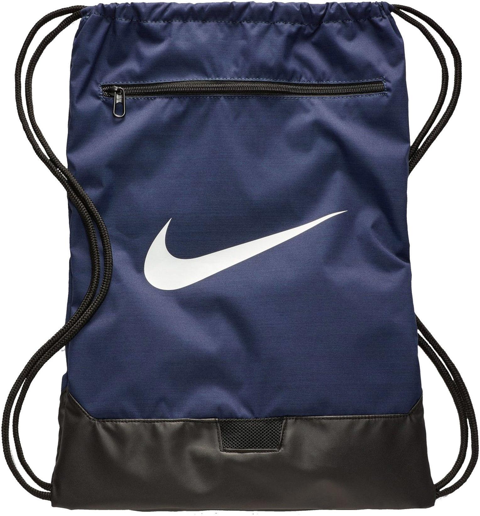 Worek na buty Nike Brasilia 9.0 BA5953 410 granatowy