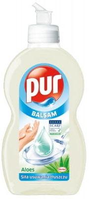 Płyn do mycia naczyń Pur 450ml Aloes