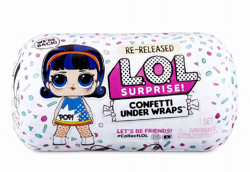 L.O.L. SURPRISE - Laleczka Under Wraps LOL Confetti 571476
