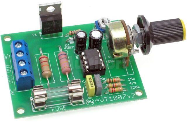Regulator obrotów silnika elektrycznego (do montażu)