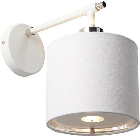 Kinkiet Balance BALANCE1 WPN Elstead Lighting biała oprawa w nowoczesnym stylu