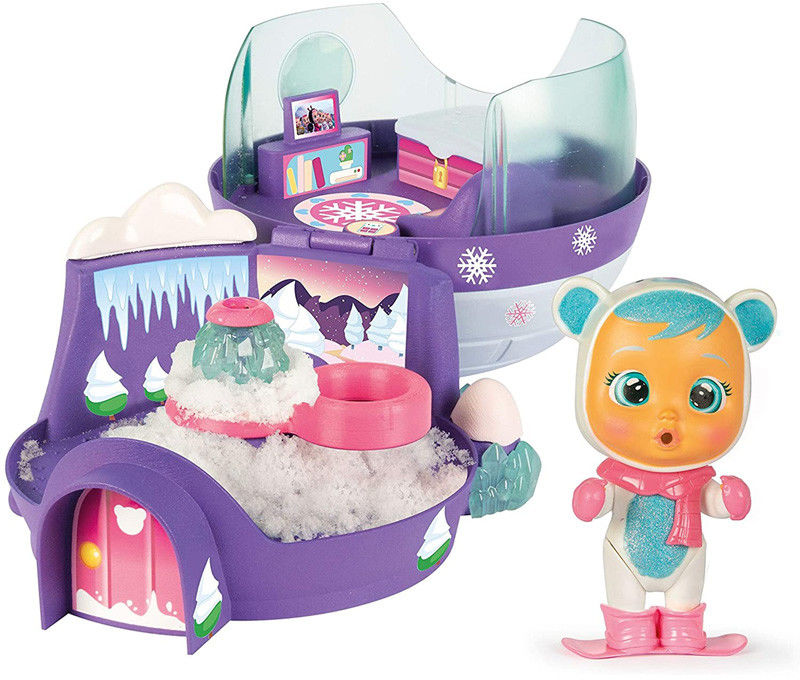 IMC Toys Cry Babies Magic Tears Krystal Igloo z laleczką 90934