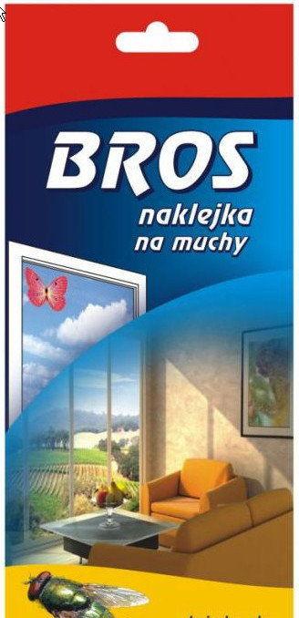 Bros Naklejka na muchy - 2 sztuki