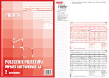 Druk Polecenie Przelew Podatki PPP A4 2odc
