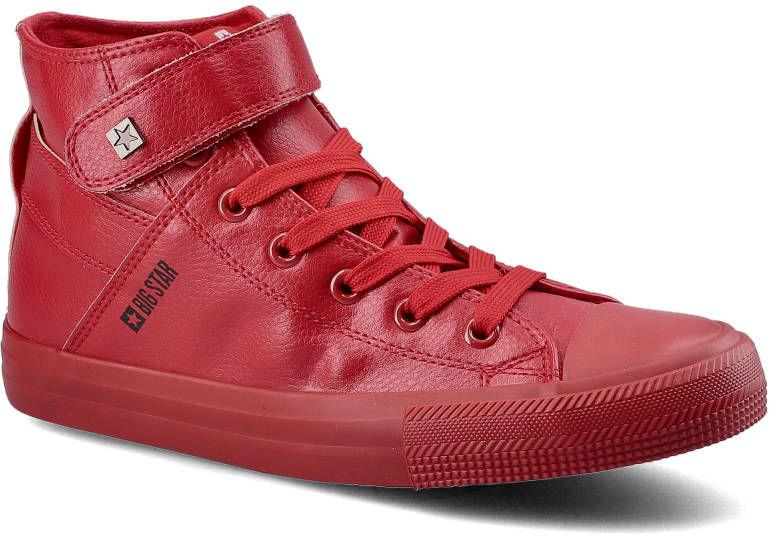 Sneakersy BIG STAR V274529SS20 Czerwony