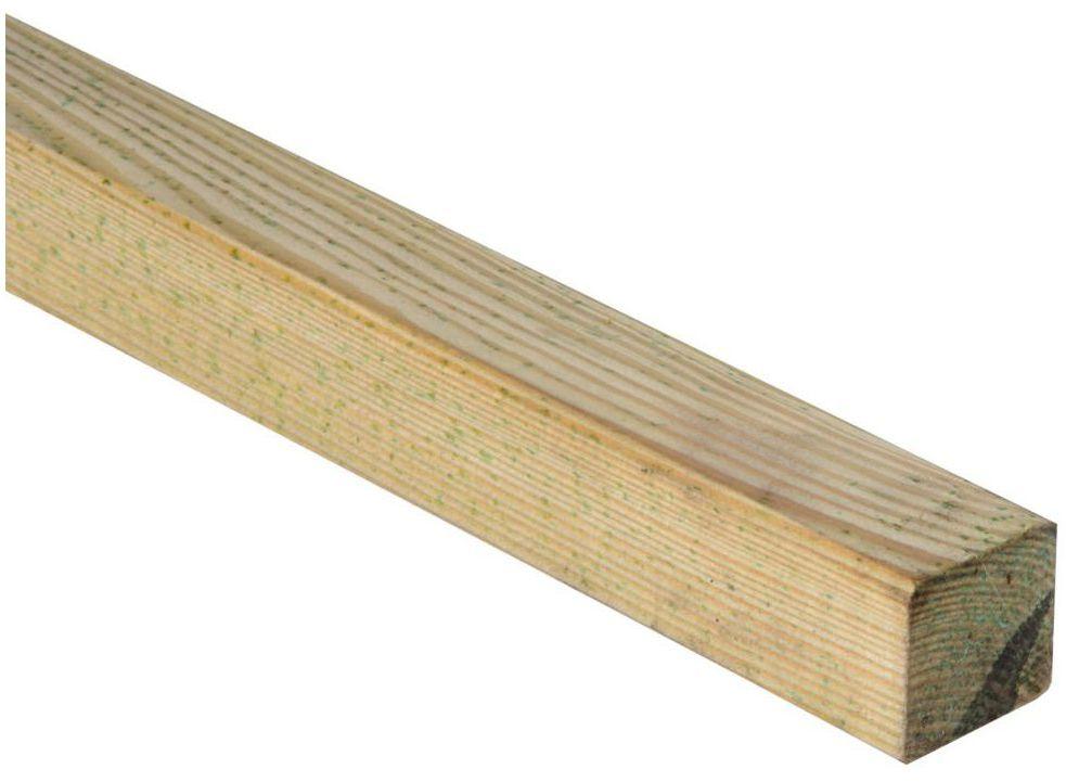 Kantówka drewniana 4.5x4.5x210 cm SOBEX