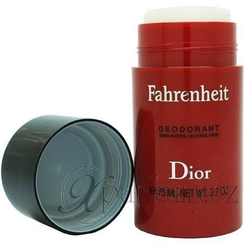 Christian Dior Fahrenheit - męski deostick 75 ml