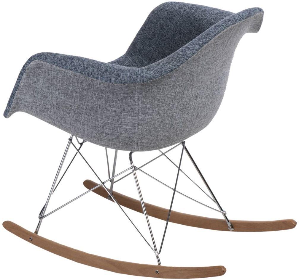 D2 Krzesło P018 RAR Duo niebiesko - szare