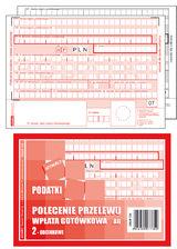 Druk Polecenie Przelew Podatki PPP A6 1+1