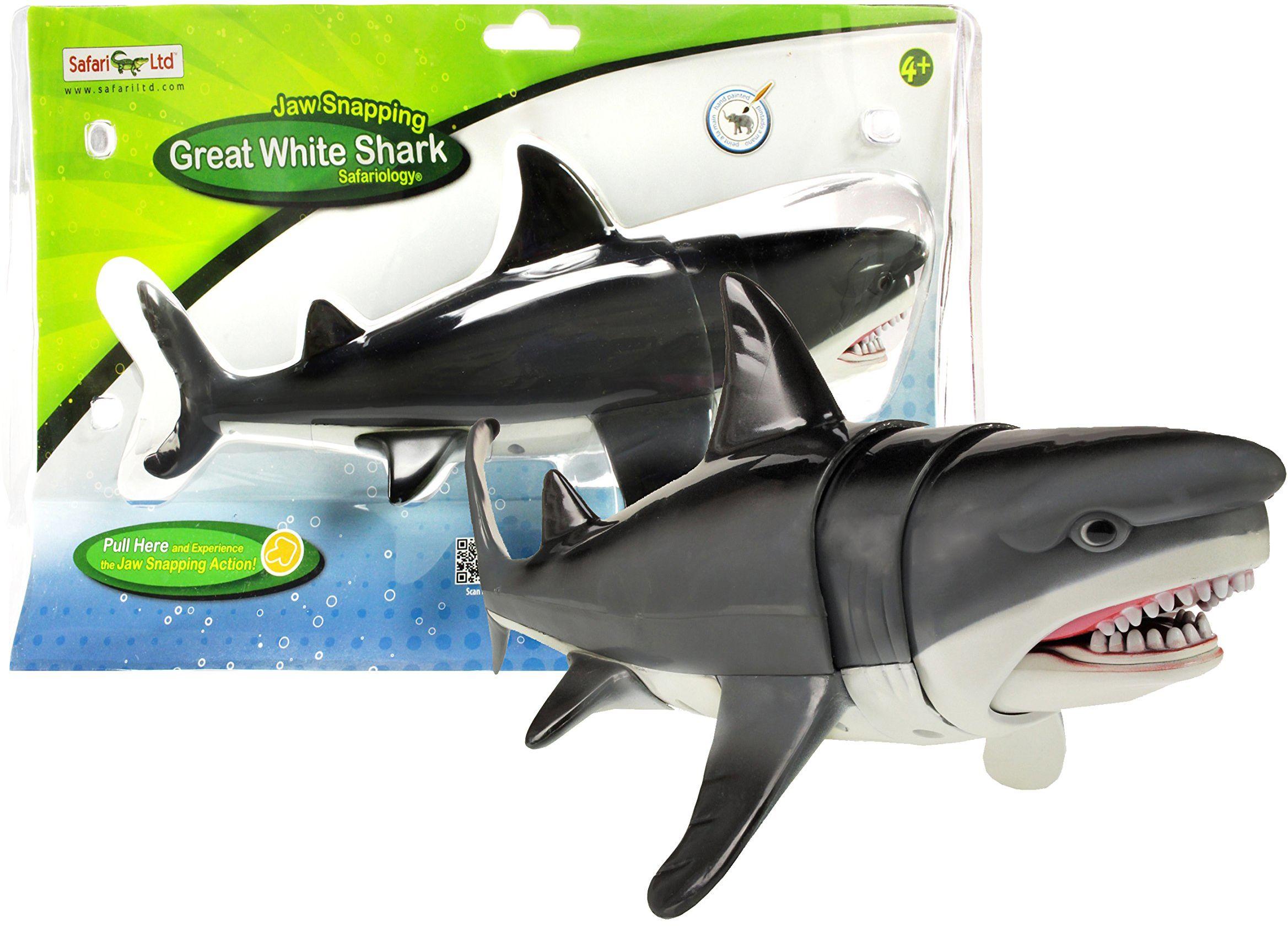Safari 352240 zatrzask szczękowy świetny rekin biały
