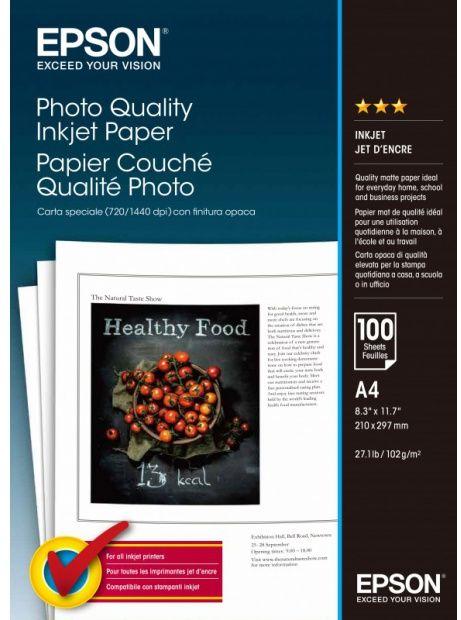 Papier EPSON Photo Quality 104 g/m2 - A4, 100 arkuszy (C13S041061)