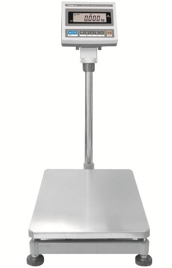 Waga platformowa CAS DB-II PLUS LCD 150kg (szalka 460x570)