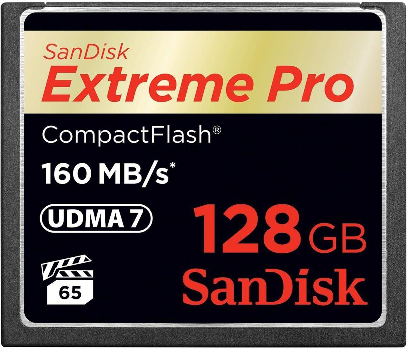 Karta pamięci CF - 128 GB 160MB/s SanDisk Extreme PRO